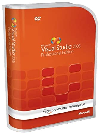 Microsoft Visual Studio 2008 Professional with MSDN Professional [Old Version]