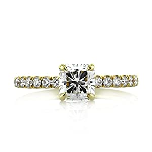 Mark Broumand 1.49ct Radiant Cut Diamond Engagement Ring
