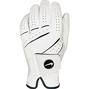 Nike Women's Tour Classic Magnetic Ball Marker White Golf Glove, Right Hand, Small