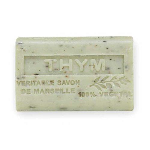 (南仏産マルセイユソープ)SAVON de Marseille タイムの香り(SP053)(125g)