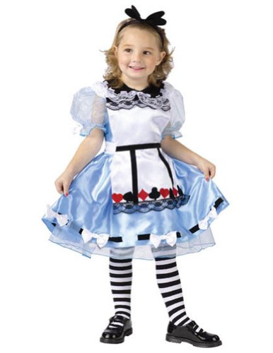 Baby-Toddler-Costume Alice Toddler Costume 3T-4T Halloween Costume