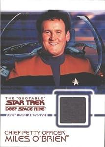 Quotable Star Trek Deep Space Nine C6 O Brien Costume Card