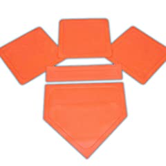 Buy BSN Orange Throw Down Bases (5 Piece ) by BSN
