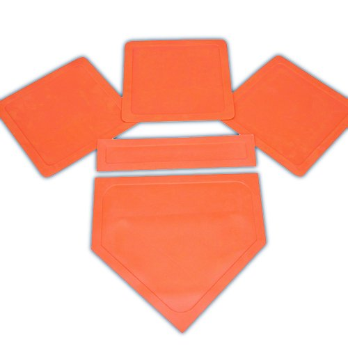 BSN Orange Throw Down Bases (5 Piece )