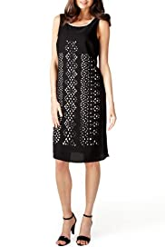 Per Una Cutwork Shift Dress [T62-1974I-S]