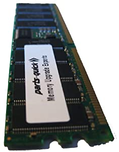 1GB PC2100 Registered 266MHz 184 pin DDR SDRAM ECC DIMM Memory RAM for Dell PowerEdge 600SC 650 1600SC SC1600 and PowerVault 725N Server (PARTS-QUICK BRAND)