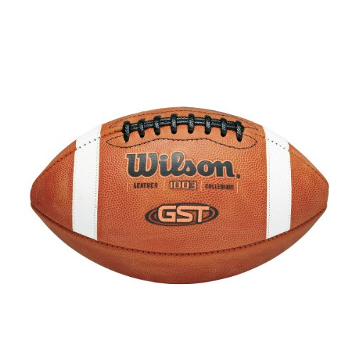 Wilson GST NCAA Leather Game Football