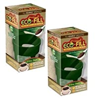 Perfect Pod Eco-Fill - 2 Pack - Refillable Capsules for K-cup brewers