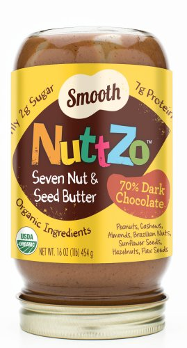 Nuttzo Dark Chocolate -Smooth (2 Jars)