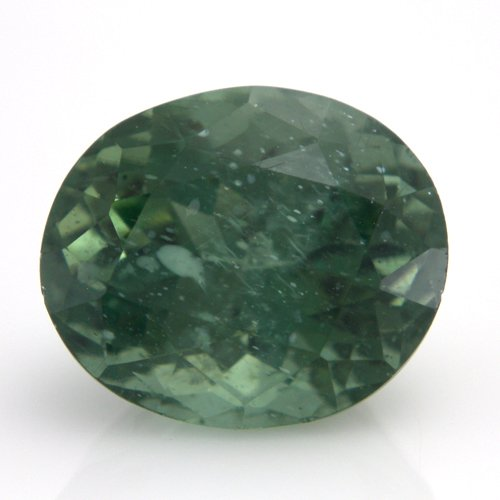 Natural Green Apatite Loose Gemstone Oval Cut 11*9mm 5.40cts SI Grade Amazing