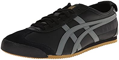 Onitsuka Tiger - Mexico 66 Leather-Black/Grey/Gold-4(Sneaker)