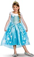 Disney Frozen Deluxe Elsa Toddler/Child Costume Medium (7-8)