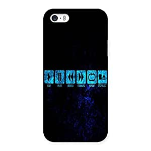 Ajay Enterprises Play Out Back Case Cover for iPhone 5 5S