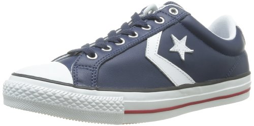 CONVERSE Unisex-Adult Star Player Ev Cuir Ox Trainers 066740-520-10 Marine 4.5 UK, 37 EU