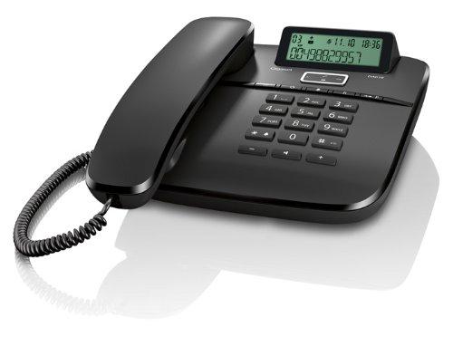 Gigaset DA610 Telefono da Tavolo con Vivavoce, Colore Nero