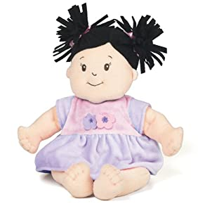 Manhattan Toy 122400 Baby Stella Black Hair