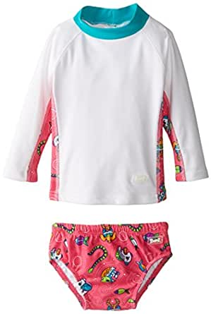 Baby banz baby girls 39 long sleeve rash guard for Baby rash guard shirt