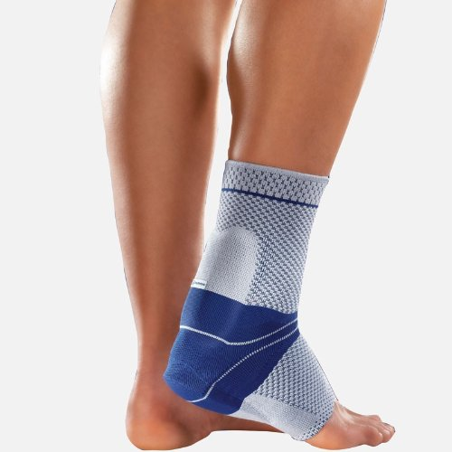 "AchilloTrain Bauerfeind Hamstrings Active Bandage - 9.84"" - 10.63"", Black Left Side"