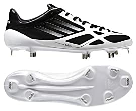 Adidas G20347 Adizero 5-Tool 2.0 Men's Baseball Cleats (Black/Metallic Silver)