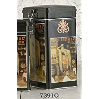 Storage canister rectangular 1lb, made in Italy