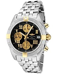 Men's Windrider Automatic/Mechanical Chrono Black Dial Stainless Steel
