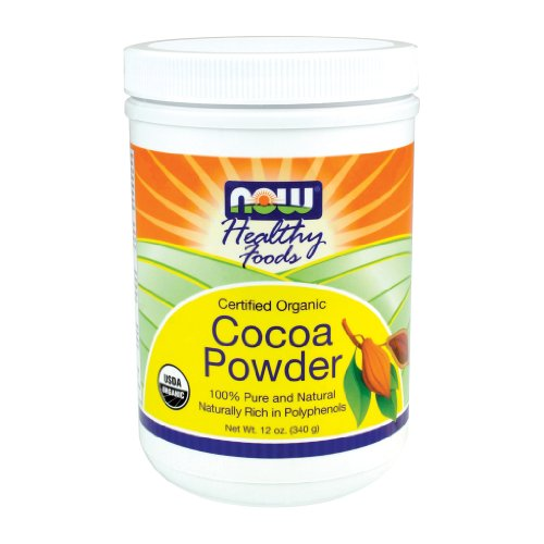 Now Foods, Organic Cocoa Powder 12 oz