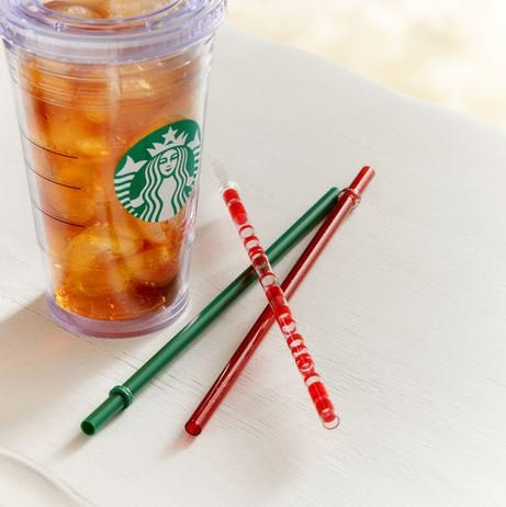 Starbucks Cup With Straw front-497589
