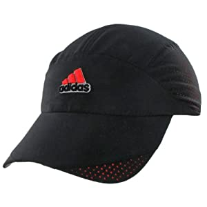 adidas Women's Climacool Trainer Cap, Black/Semi Solar Red/Solar Red, One Size