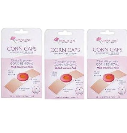 Carnation Footcare Corn Caps X 10-Pack Of 3 (Carnation Corn Caps X 10 compare prices)