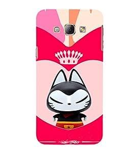 EPICCASE Royal kitty Mobile Back Case Cover For Samsung Galaxy A3 (Designer Case)