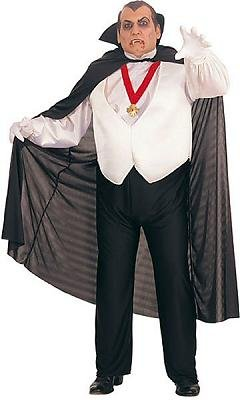 Dracula Men's Costume Adult Halloween Outfit