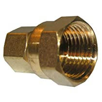 LASCO 17-6637 3/8-Inch Compression by 1/2-Inch Female Pipe Thread Brass Adapter