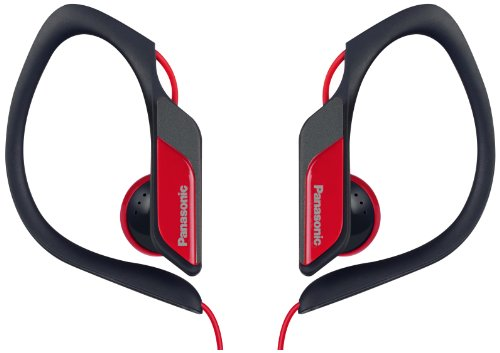 Panasonic Water/Sweat Resistant In Ear Sports Headphone - Red