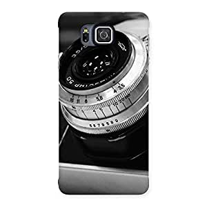 Cool Camera Vintage Back Case Cover for Galaxy Alpha