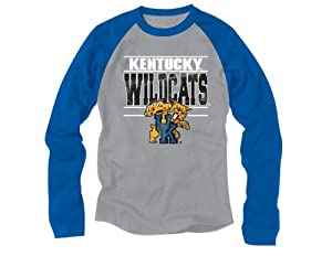 NCAA Kentucky Wildcats Long Sleeve Raglan Tee, 18 20 by PEAKSEASON