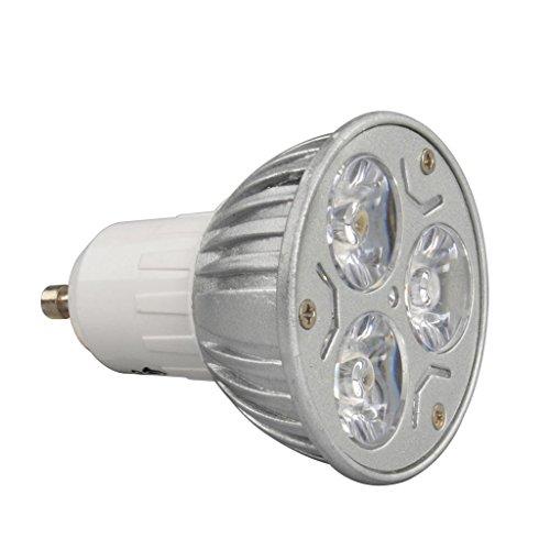 1X High Power 9W 3X3W Gu10 Warm White Led Smd Bright Spot Light Bulb Lamp Globe
