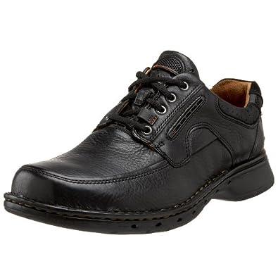 亚马逊美国_其乐Clarks Unstructured Un.Bend休闲皮鞋