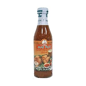 Mae Ploy Thai Sweet Chilli Sauce - 10 Oz Bottle X 3 from Mae Ploy