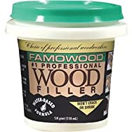 Famowood Water-Based Wood Filler-1/4PT RD OAK WOOD FILLER