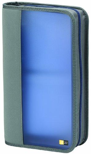 Case Logic BCW48 Etui pour 48 CD plastic souple Gris et Bleu