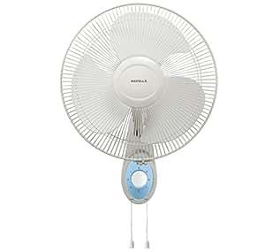 Havells Swing Platina 400mm 110-Watt High Speed Wall Fan (White)