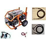 Yamaha Tri Fuel Generator Complete Package 8,500 Watts