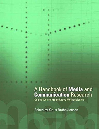 A Handbook of Media and Communication Research: Qualitative and Quantitative Methodologies