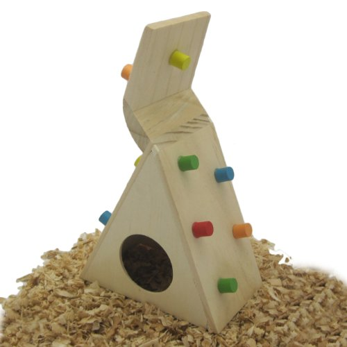Alfie Pet By Petoga Couture - Small Animal Playground - Jami Wooden Climbing Hideout (Toy For Mouse And Dwarf Hamster) front-842174