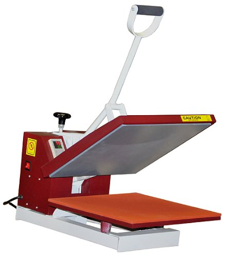 Powerpress industrial quality digital 15 by 15 inch for Heat pressing t shirts