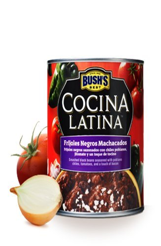bushs-concina-latina-beans-155oz-can-pack-of-12-select-flavor-below-frijoles-negros-machacados