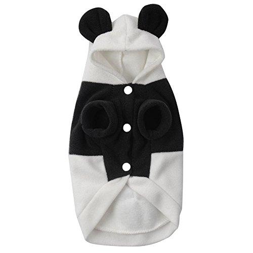 lecktra 1 x panda hundemantel warm f r die kalte jahreszeit herbst winter wintermantel. Black Bedroom Furniture Sets. Home Design Ideas