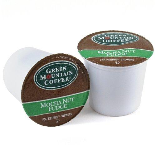 Green Mountain Mocha Nut Fudge Coffee Keurig K-Cups, 18 Count front-563269
