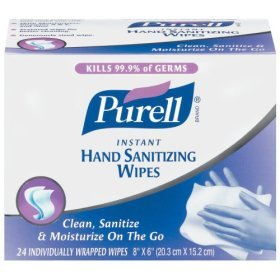 PURELL INSTANT HAND SANITIZER PREMIUM WIPES 7