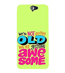 PrintVisa Birthday Quotes Design 3D Hard Polycarbonate Designer Back Case Cover for HTC One A9